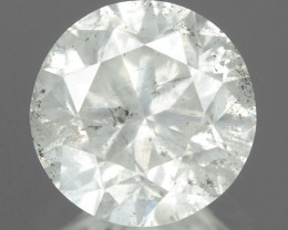 1.23 Cts Untreated Fancy White Color Natural Loose Diamond