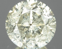 1.05 Cts Untreated Fancy White Color Natural Loose Diamond