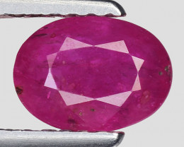 0.98 Ct Red Ruby Awesome Color ~ Mozambique RB37