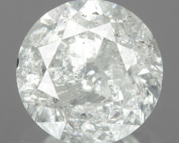 1.02 Cts Untreated Fancy White Color Natural Loose Diamond