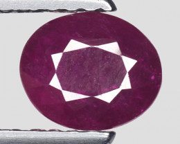 0.85 Ct Red Ruby Awesome Color ~ Mozambique RB43