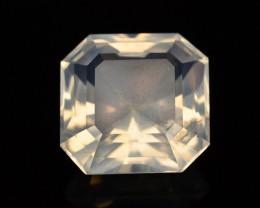 Rare Peach Pink 13.40 ct Feldspar Moonstone~Fancy Cut