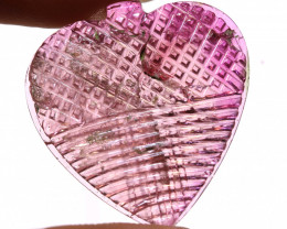 16 CTS PINK TOURMALINE CARVING  SG-1098