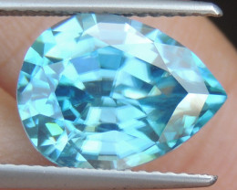 8.38cts Blue Zircon from Cambodia