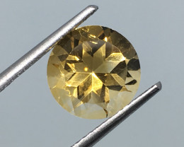 2.50 Carat VVS Citrine Precision Cut and Polish !