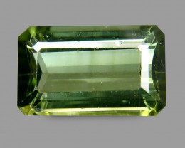 Outstanding 1.25 Cts Tourmaline Green Emerald Antique Step Cut BGC213