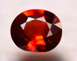 Garnet 1.41Ct Natural Vivid Orange Spessartite Garnet E0613/B34