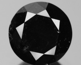 1.38 Cts Amazing Rare Fancy Black Color Natural Loose Diamond