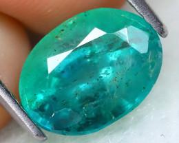 Zambian Emerald 2.21Ct Natural Green Color Zambian Emerald B0401