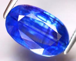 Kyanite 4.07Ct Natural Himalayan Royal Blue Color Kyanite ER309/A401