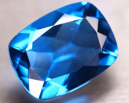 Fluorite 10.83Ct Natural IF Vivid Bule Color Change Fluorite ER299/A49