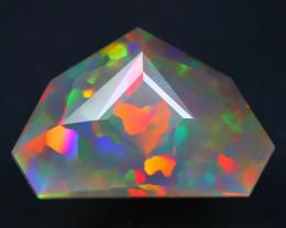 Welo Opal 4.66Ct Master Cut Natural Ethiopian Flash Color Welo Opal AT0020