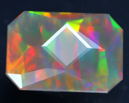 Welo Opal 2.06Ct Master Cut Natural Ethiopian Flash Color Welo Opal AT0022