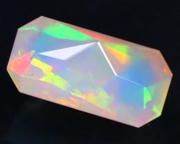 Welo Opal 1.69Ct Master Cut Natural Ethiopian Flash Color Welo Opal AT0024