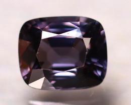 Spinel 1.96Ct Mogok Spinel Natural Burmese Titanium Purple Spinel D0706/A12