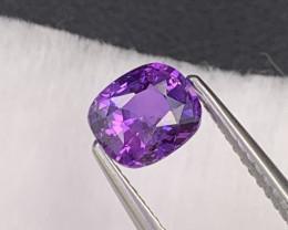 1.28 Cts Fine Quality Rich Brilliant Lavender Sapphire Srilanka
