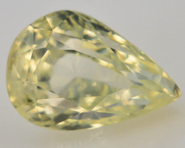 Top Color 1.70 ct Natural Yellow Sapphire