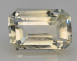 Top Color 1.05 ct Natural Yellow Sapphire