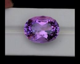 33.60 Carats Top Grade Natural Amethyst Fancy Flower Cut Gemstone