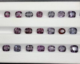 22.94 CT Spinel Gemstones Parcel / 20 pc
