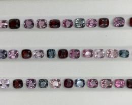 25.35 CT Spinel Gemstones Parcel/40 PC