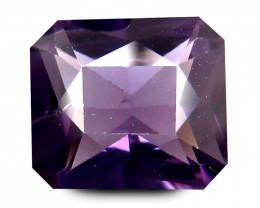 Purple Cylon SPINEL 1.761 Cts Scissors cut Emerald BGC470