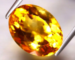 Citrine 5.63Ct Natural Golden Yellow Color Citrine EF0811/A2