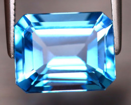 Swiss Topaz 5.16Ct Natural VVS Swiss Blue Topaz EF0815/A48