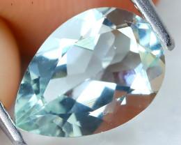 Aquamarine 1.54Ct VVS Pear Cut Natural Blue Color Aquamarine C0503