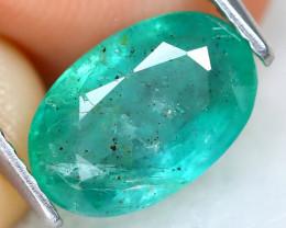 Zambian Emerald 2.13Ct Oval Cut Natural Green Color Emerald B0510