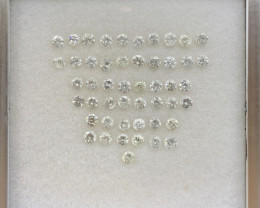 2.32 ct Diamond Gemstones/49 pc/0.05 pointer