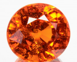 ~AMAZING~ 6.70 Cts Natural Mandarin Fanta Orange Spessartite Garnet Oval Cu