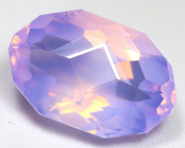 Lavender Amethyst 17.66Ct VVS Master Cut Natural Lavender Amethyst AT0027