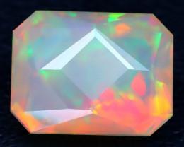 Welo Opal 3.02Ct Master Cut Natural Ethiopian Flash Color Welo Opal AT0039