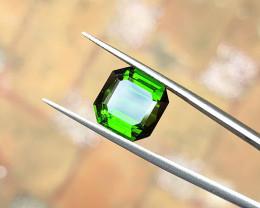 6.40 Ct Natural Green Transparent Tourmaline Gemstone
