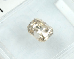 0.91ct Natural Fancy  Yellowis Brown  Diamond GIA certified