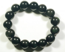 Natural Golden Obsidian Bracelet
