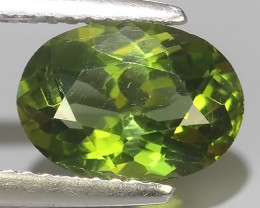 2.20 CTS BEAUTYFUL NATURAL GREEN APATITE OVAL DAZZLING!!