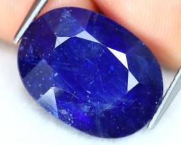 Blue Sapphire 12.86Ct Oval Cut Royal Blue Sapphire A0607