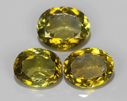 3.75 CTS UNIQUE FACET EXCELLENT LUSTER YELLOW~GREEN  TOURMALINE~