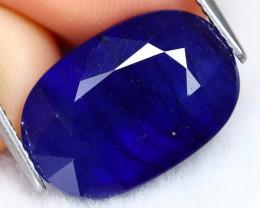 Blue Sapphire 12.09Ct Oval Cut Royal Blue Color Sapphire C0605
