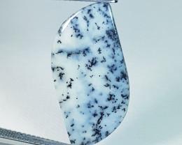 6.11 ct Natural Dendrite  Opal Fancy Cabochon  Gemstone