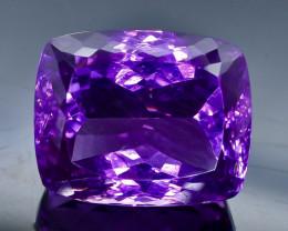 48.83 Crt  Amethyst Faceted Gemstone (Rk-4)