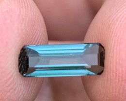 1.45 Carats indicolite Tourmaline Gemstone From Afghanistan