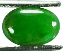 ~UNTREATED~ 2.16 Cts Natural Jade Cabochon Vivid Green Burmese
