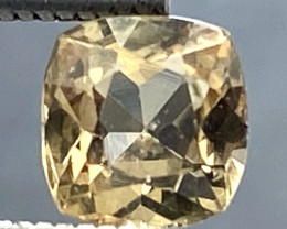 0.70 Ct Axinite World's Rarest Top Luster Gemstone From Pakistan. AX 52
