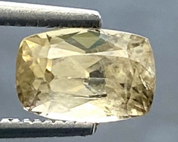 0.90 Ct Axinite World's Rarest Top Luster Gemstone From Pakistan. AX 39