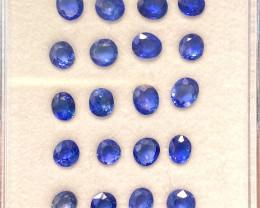 4.77ct unheated blue sapphire