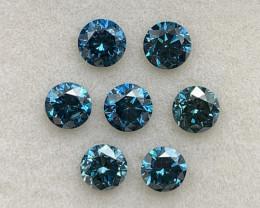 3.68 ct Diamond Gemstones/ 7 pc