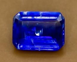 1.61 Crt Natural Kyanite  Faceted Gemstone.( AB 22)
